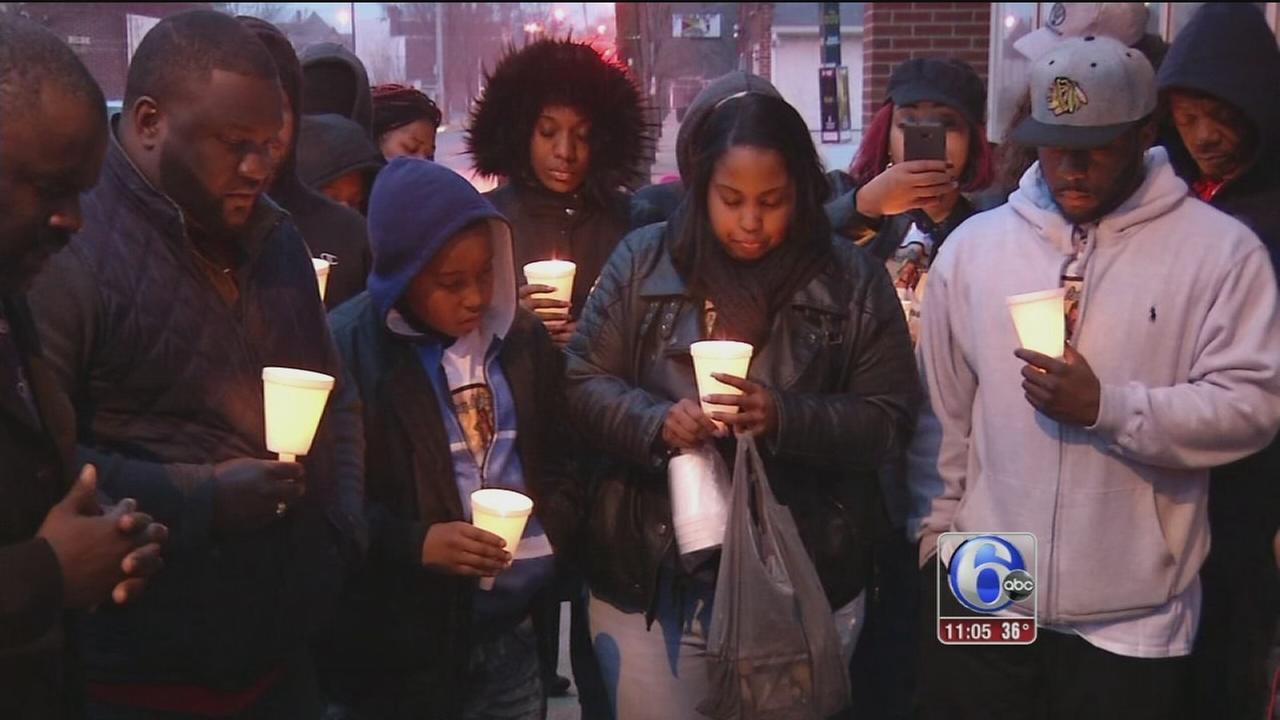 Penns Grove vigil