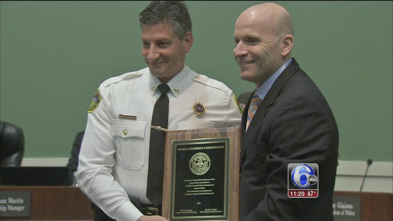 Honoring years of dedication to the community