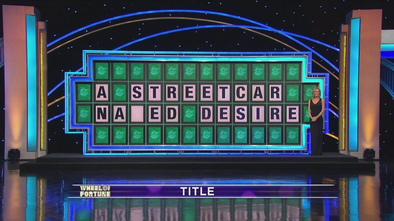 Wheel of Fortune puzzle fail