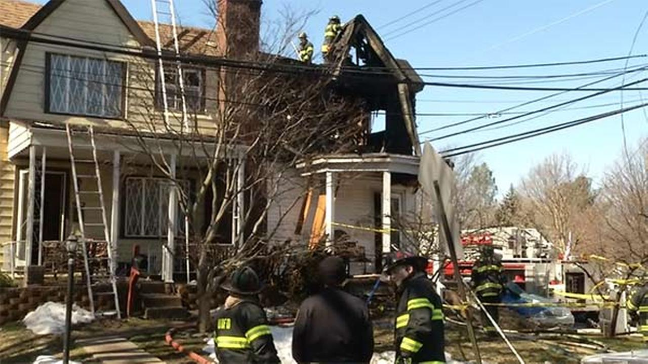 Fire erupts in Upper Darby home with ammo inside