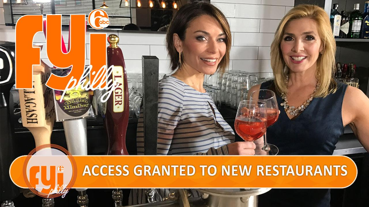 FYI Philly: Access granted to new restaurants