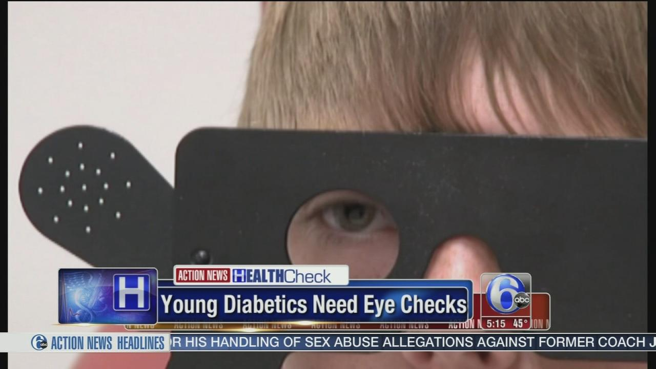 Young diabetics need eye checks