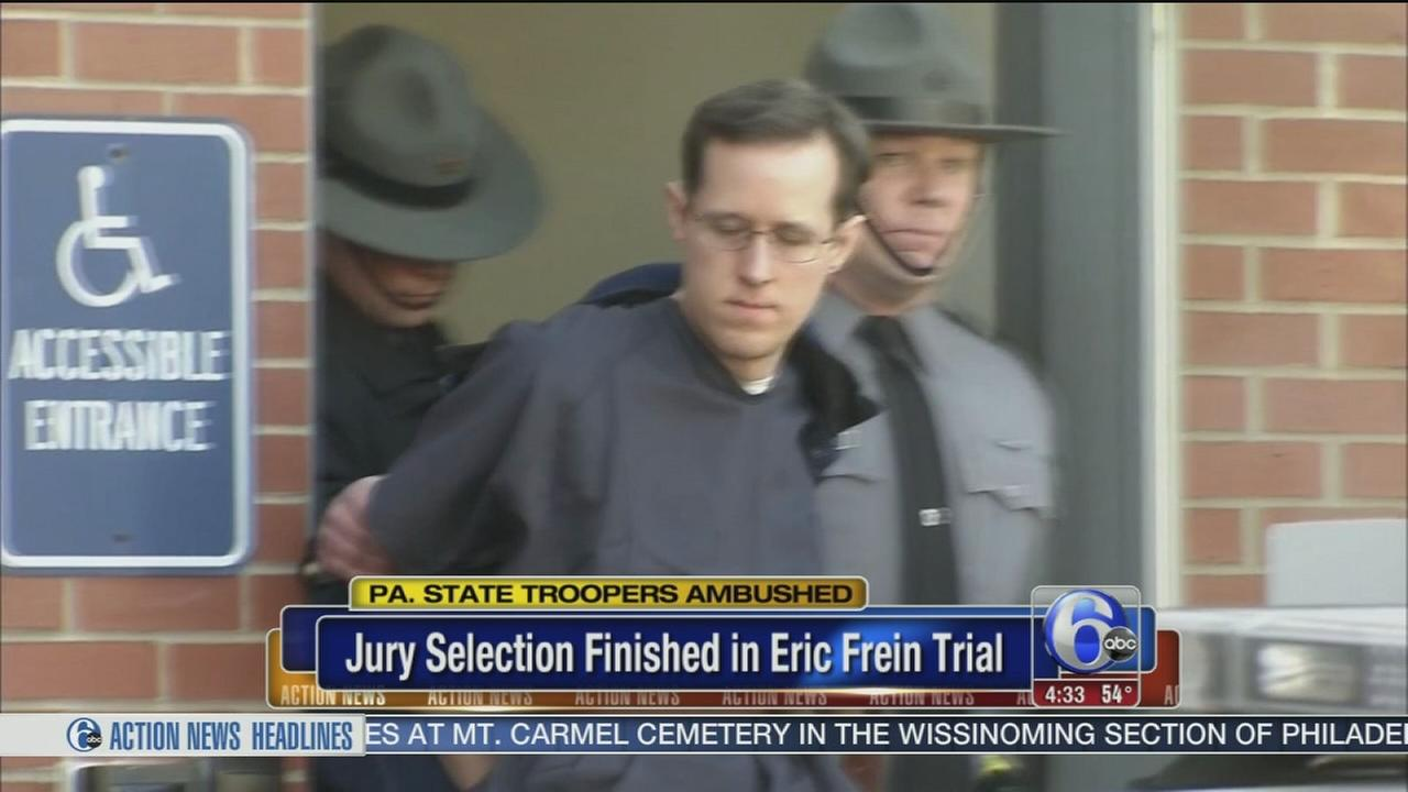 Jury selection finished in trial of barracks ambush suspect
