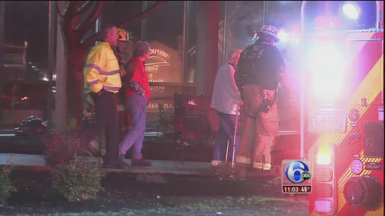 Sprinkler system malfunction prompts nursing home evacuation