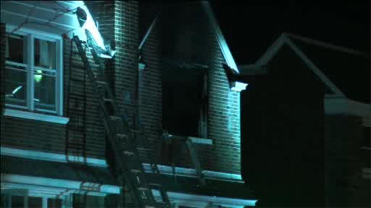 Family of 4 escapes Mayfair house fire