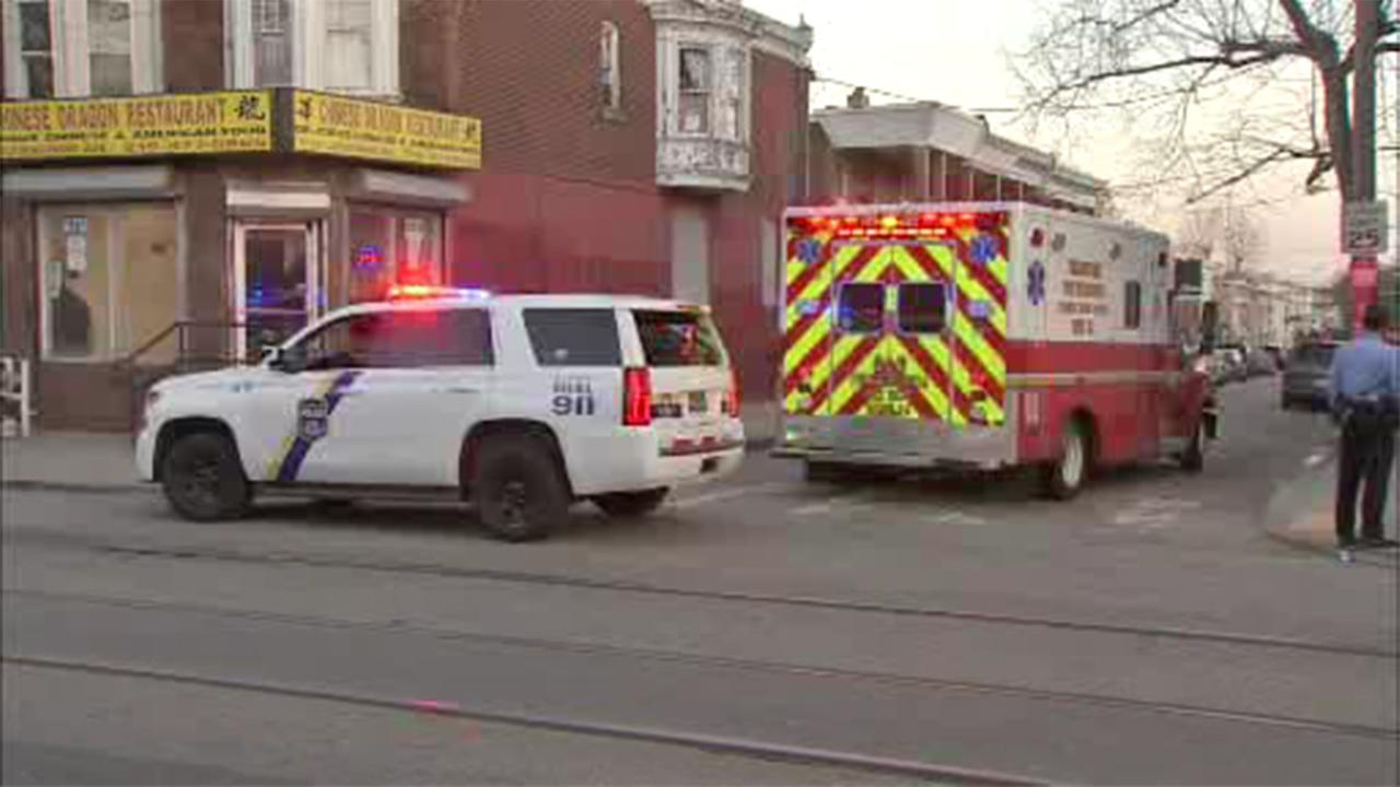 Child struck by car in West Philadelphia