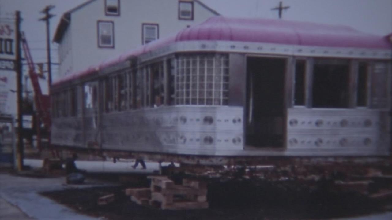 Rare vintage diner moves to new home after restoration