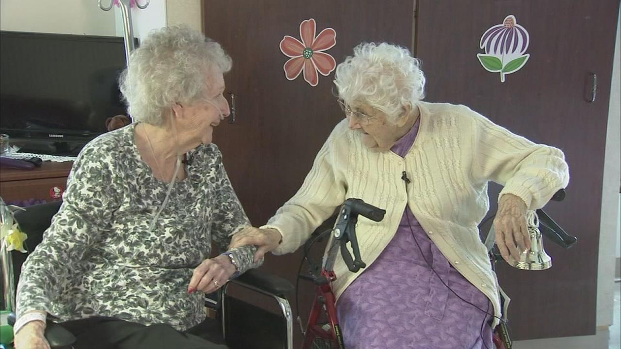 Art of Aging: 104-year-old woman brings sunshine, smiles to senior residence