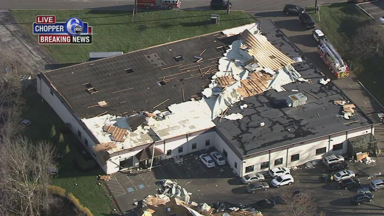 Winds blamed for roof damage in West Conshohocken