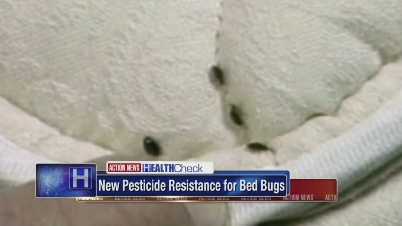 New pesticide resistance for bed bugs