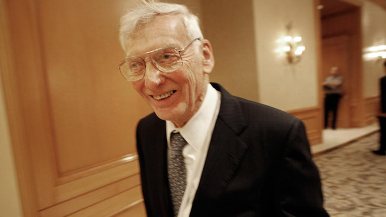 Pittsburgh Steelers chairman Dan Rooney smiles as he walks in the hallway after the NFL owners meeting in Irving, Texas, Wednesday, Dec. 17, 2008.