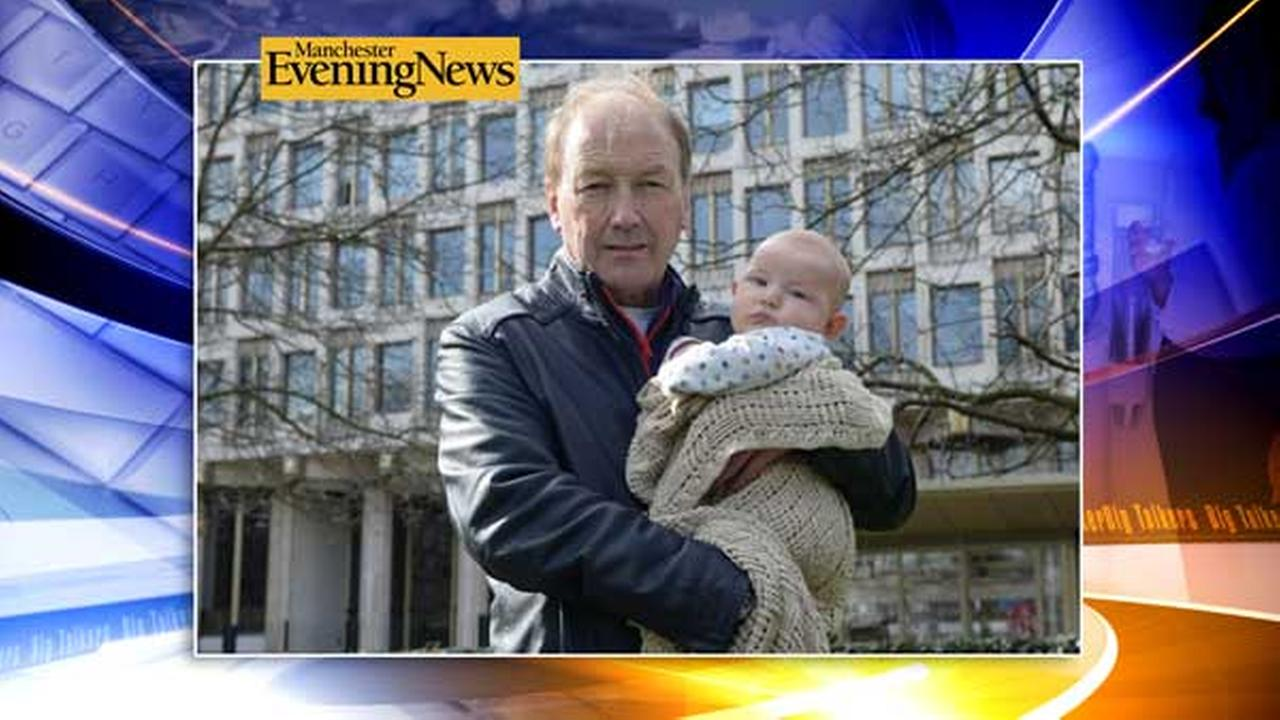 A 3-month-old baby was brought in for questioning by the US Embassy in London after his grandfather accidentally checked the wrong box on a travel form.