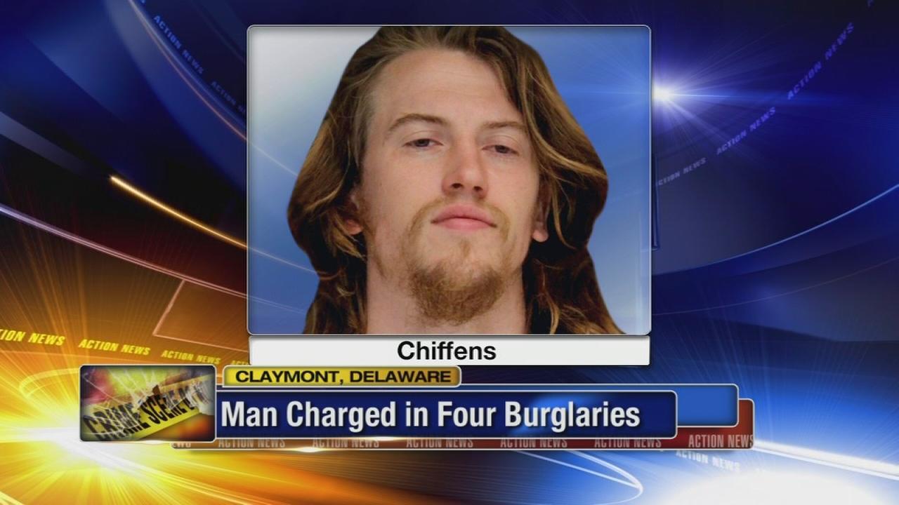 Serial burglary suspect arrested