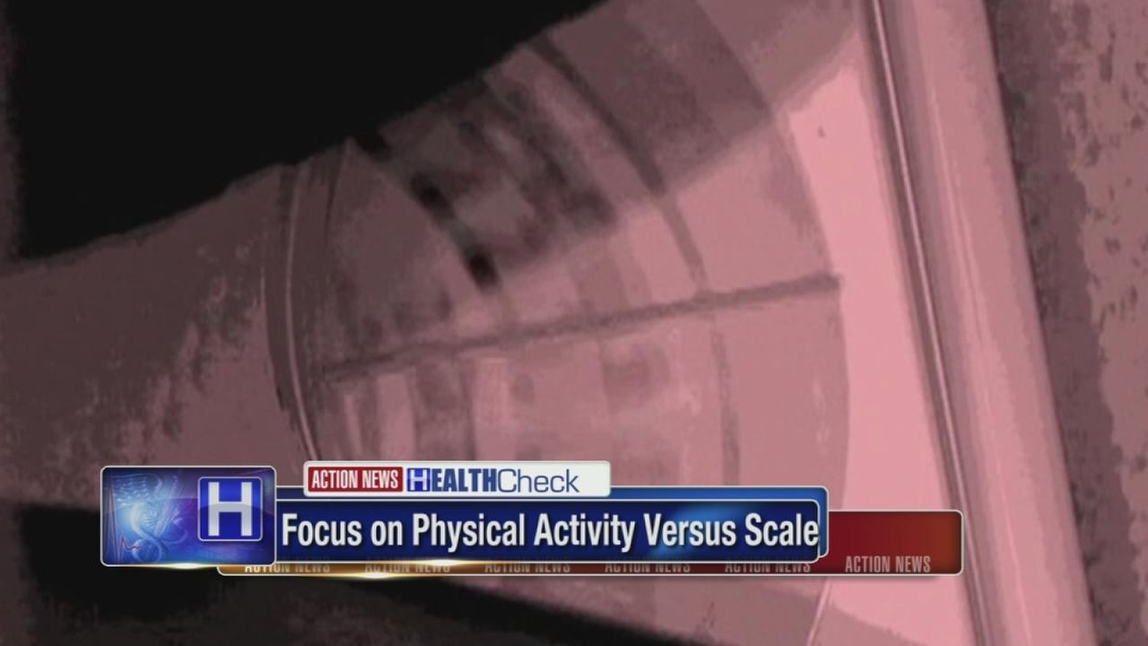 Focus on physical activity versus scale