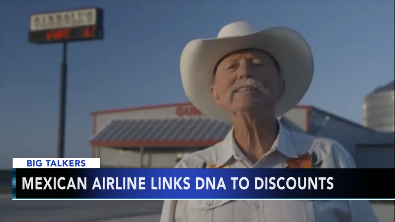 Mexican airline links DNA to discounts: Brian Taff reports during the 4:30 p.m. show on January 18, 2019.