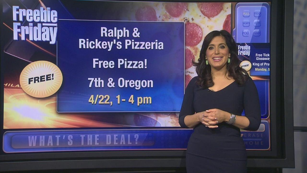 Freebie Friday: Pizza, coffee, gift cards, Bobby Rydell meet and greet