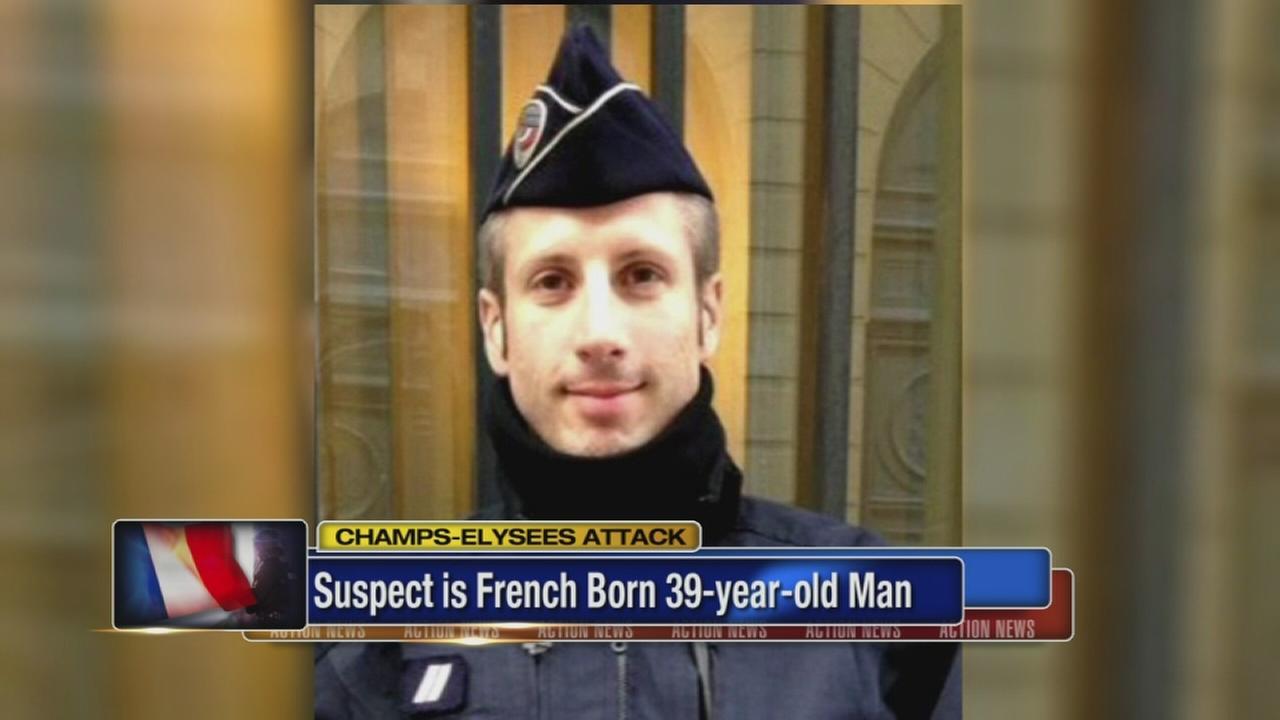 Champs-Elysees gunman had long criminal record