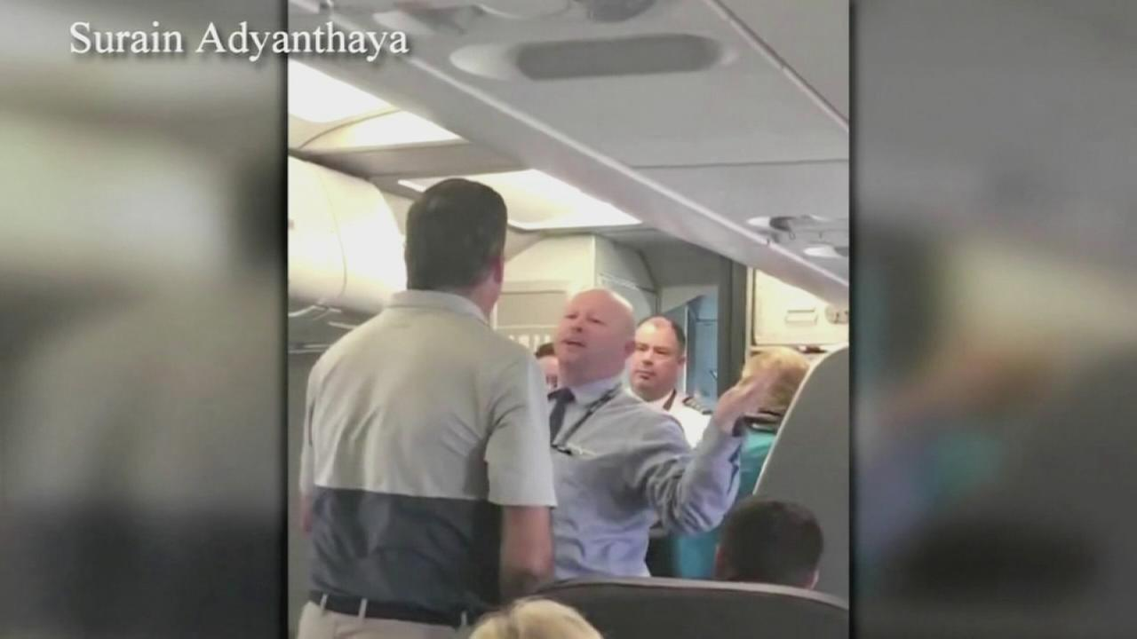 VIDEO: Mother left in tears after confrontation with airline employee