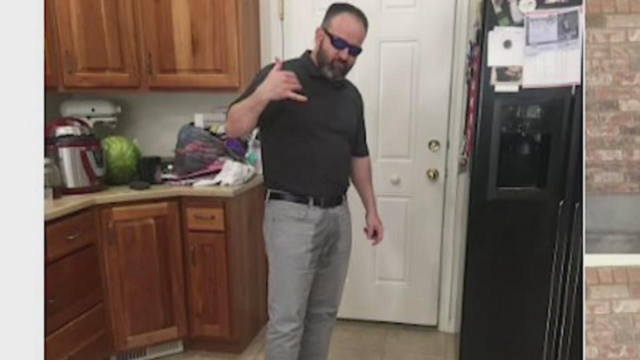VIDEO: Dad pretends to pee himself to make daughter feel better