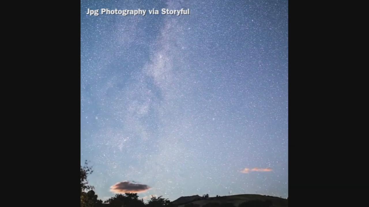 VIDEO: Shooting Stars Timelapse