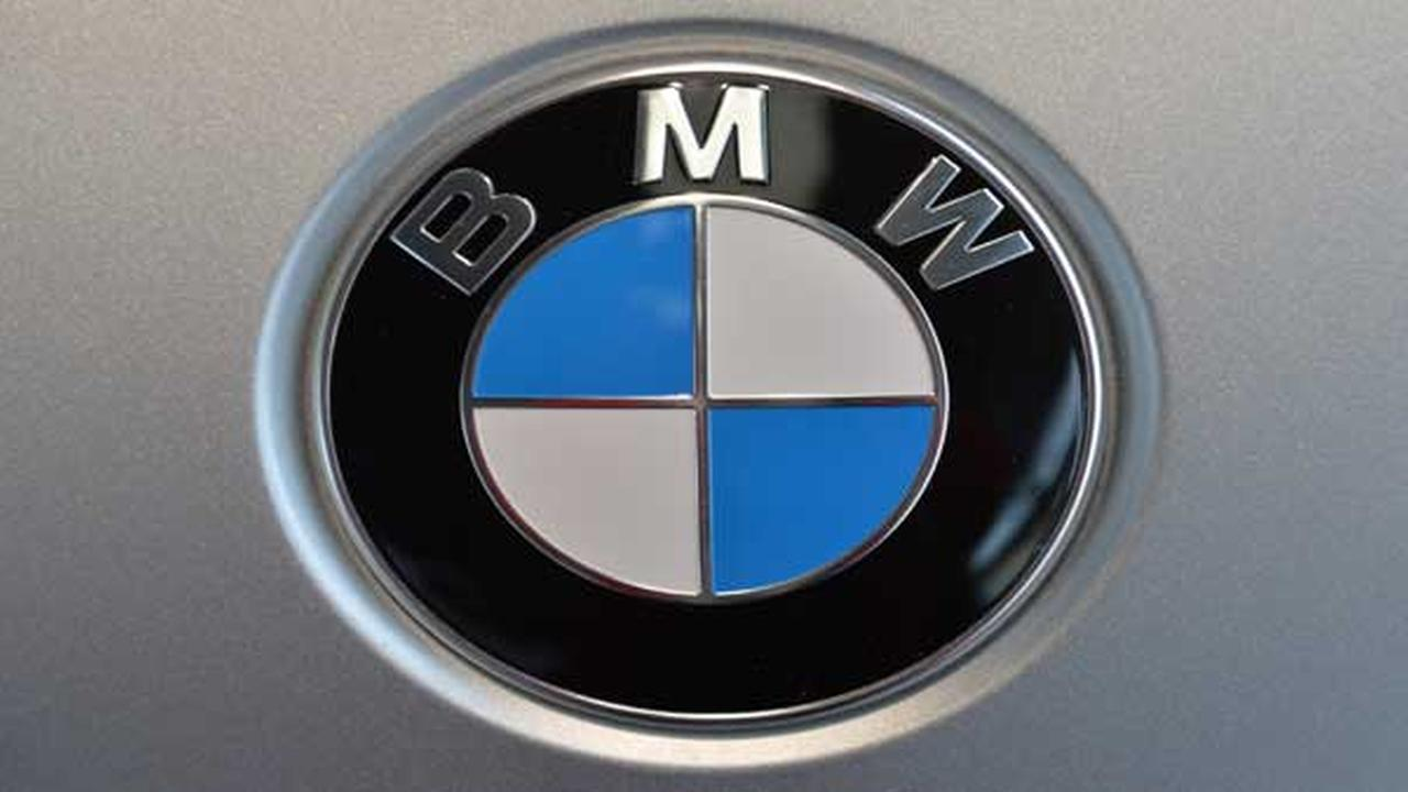 FILE - The March 19, 2014 file photo shows the company logo of car manufacturer BMW.