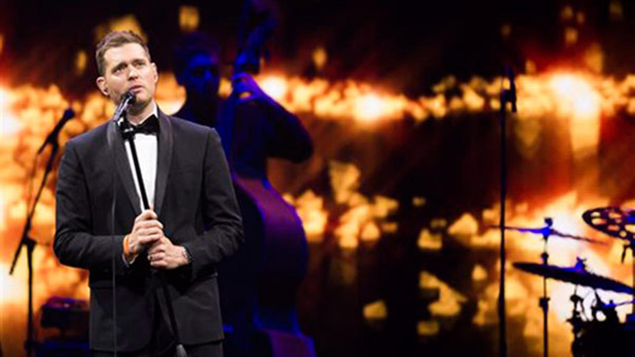Buble gets emergency dental help before show