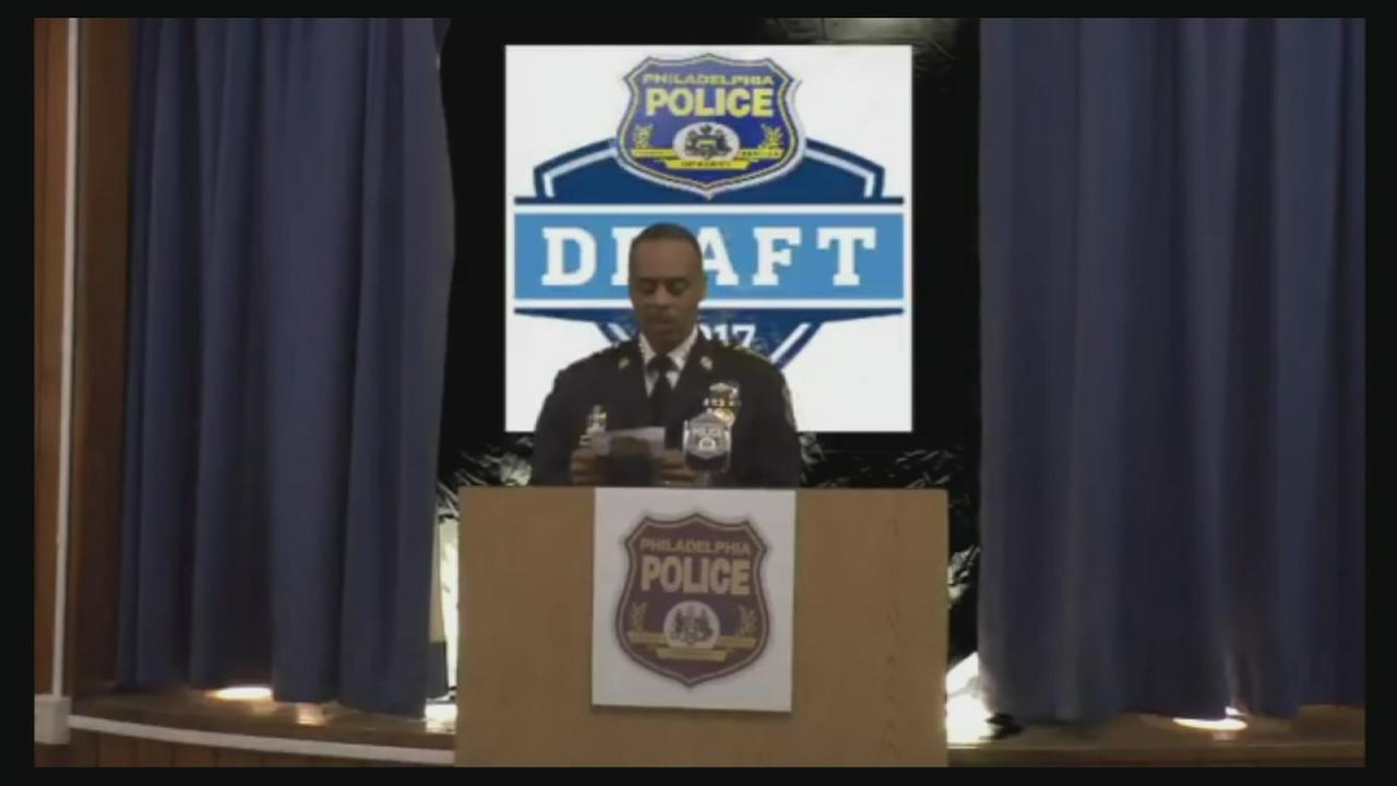 Philly Police hold their own draft