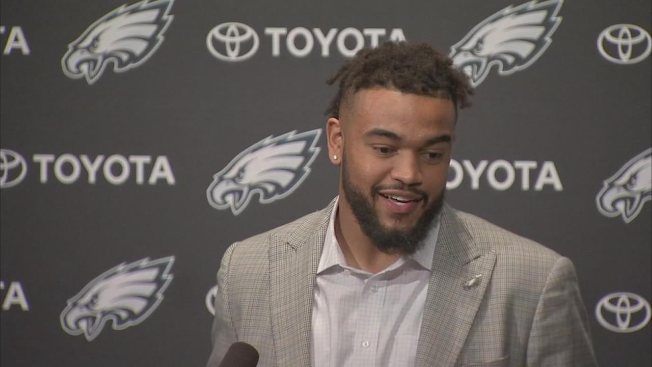 Philadelphia Eagles pick Derek Barnett in 1st round of NFL Draft