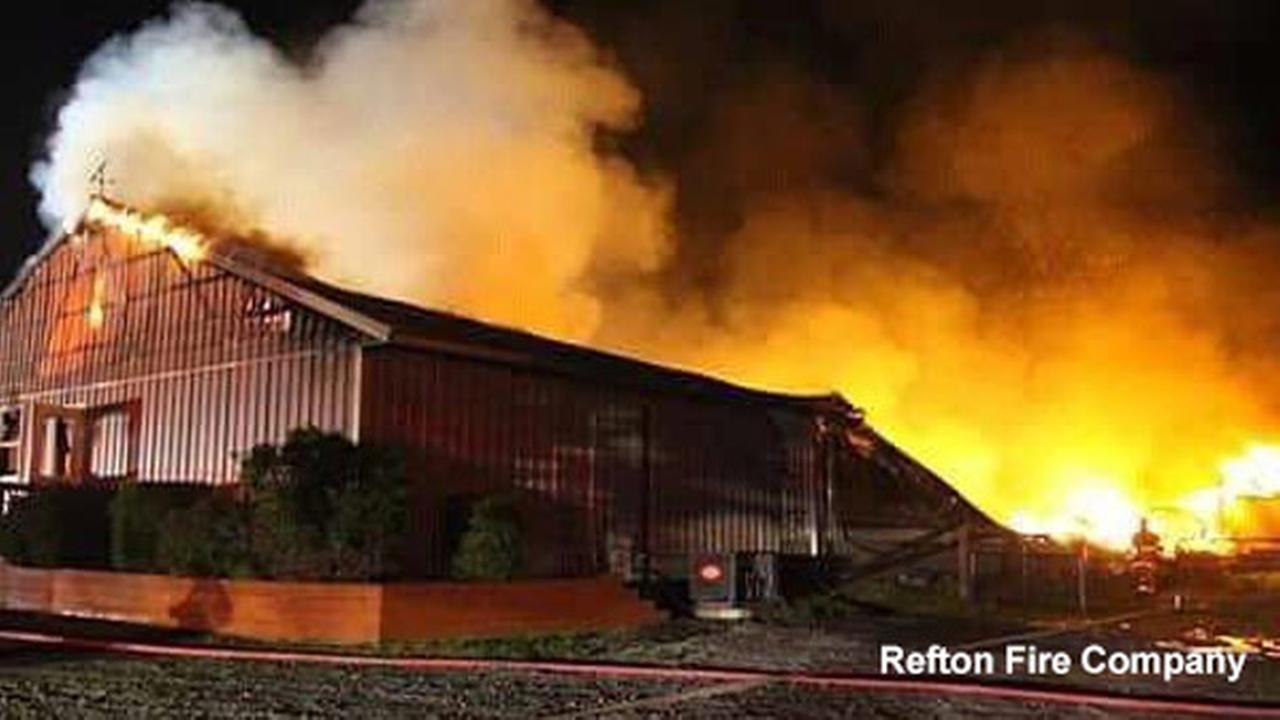 Chicken house fire in Pennsylvania kills about 19,000 birds