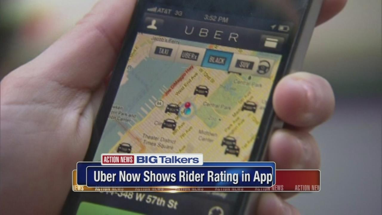 Uber now shows rider ratings in app