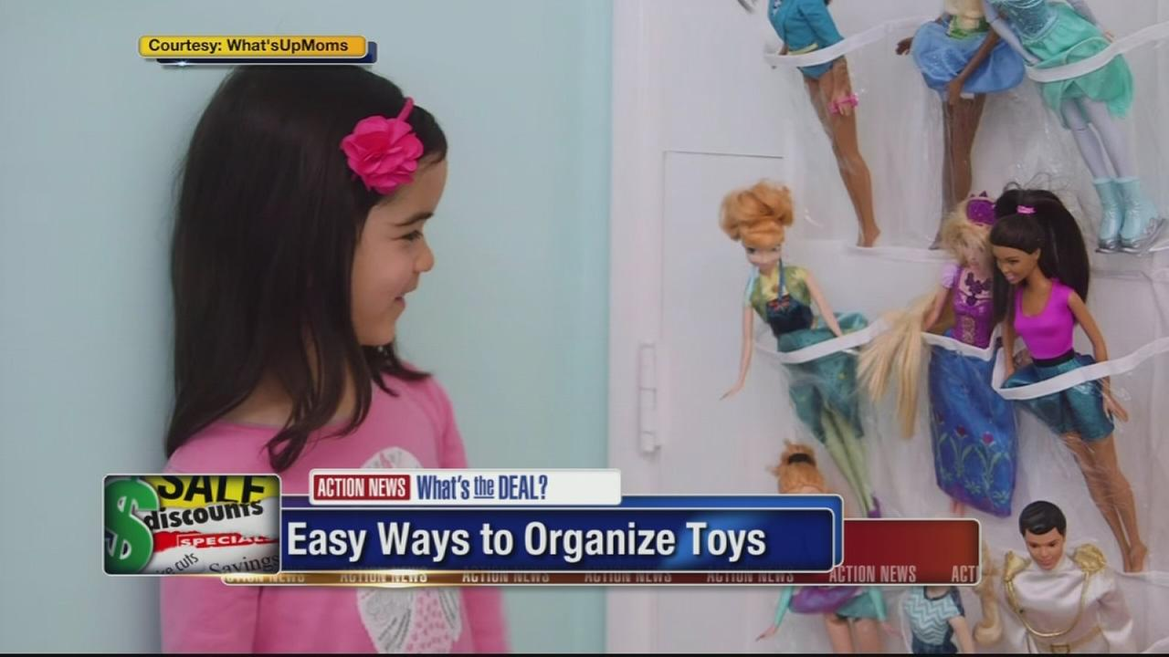 Whats the Deal: Toy organization hacks