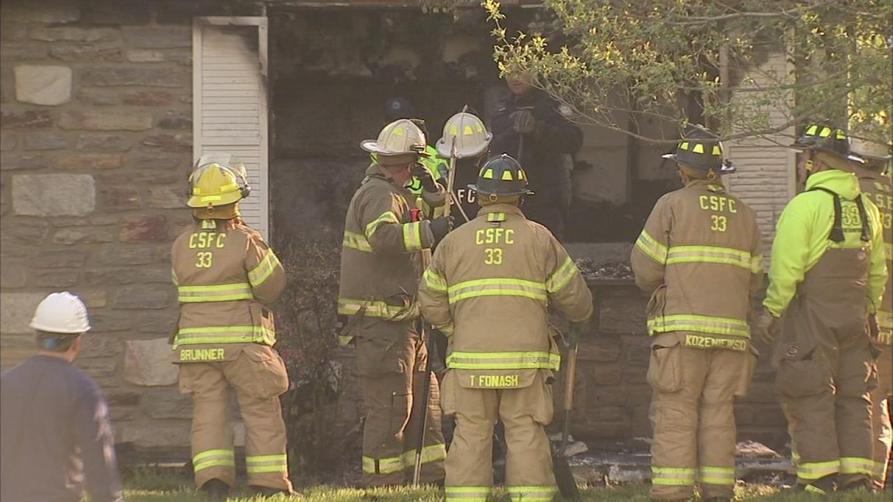 Fire claims mans life in Whitpain Twp.