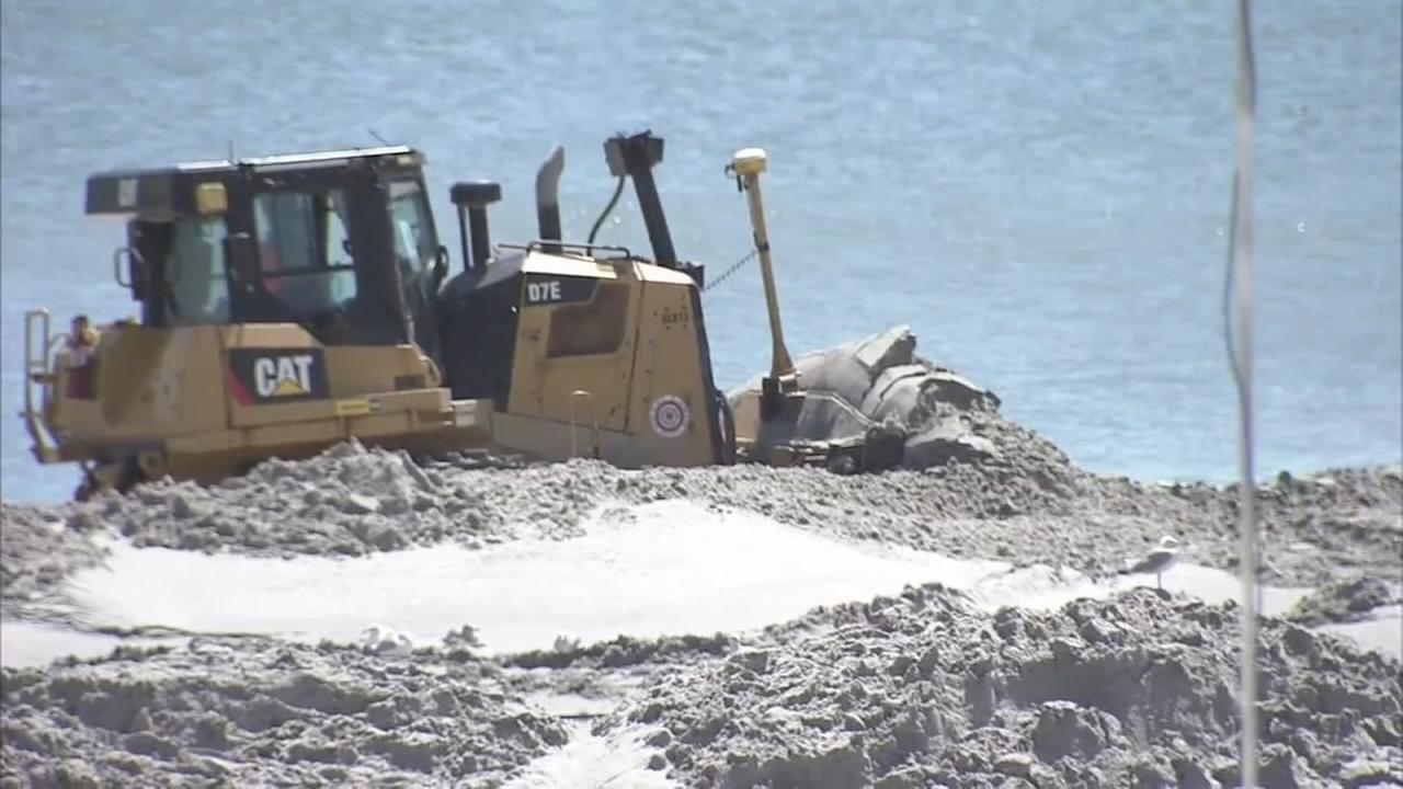 VIDEO: Outrage over timing of Ventnor beach replenishment