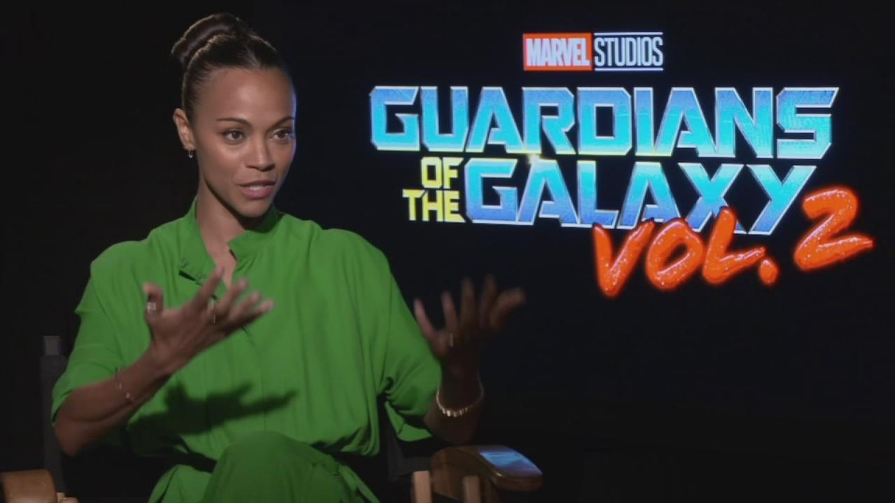 VIDEO: Alicia and Zoe Saldana