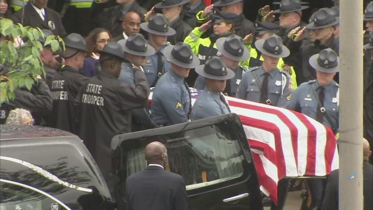 Final farewell for Del. state trooper Stephen Ballard
