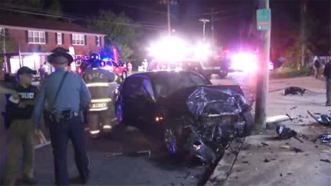 Woman injured in 2-vehicle crash in Wilmington