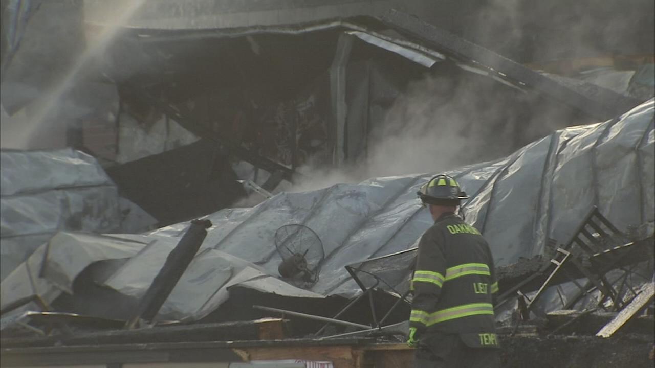 Fire damages popular Havertown restaurant