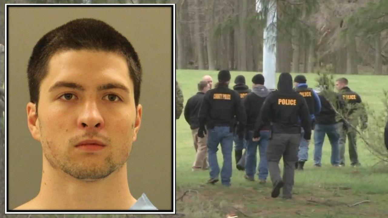 Updated photo of Daniel Santucci released by New Castle County police.