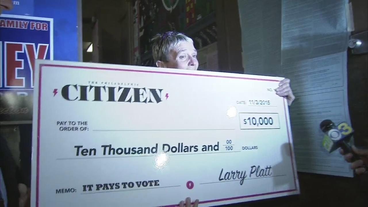 Lottery hopes to boost voter turnout