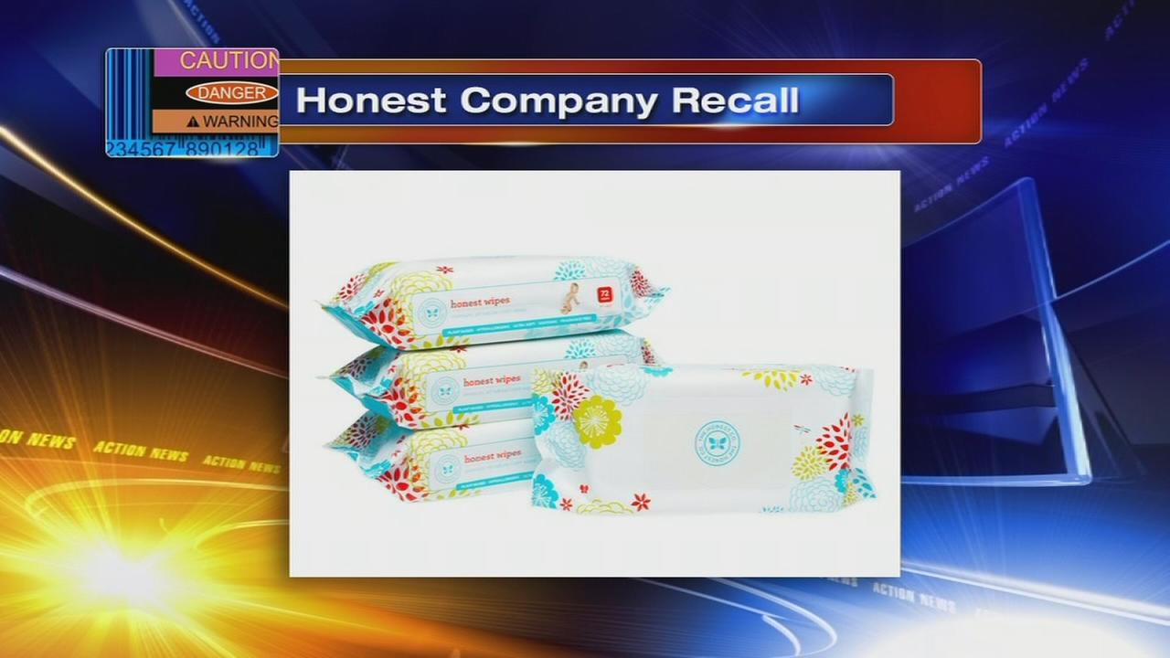 Honest Company recalls baby wipes