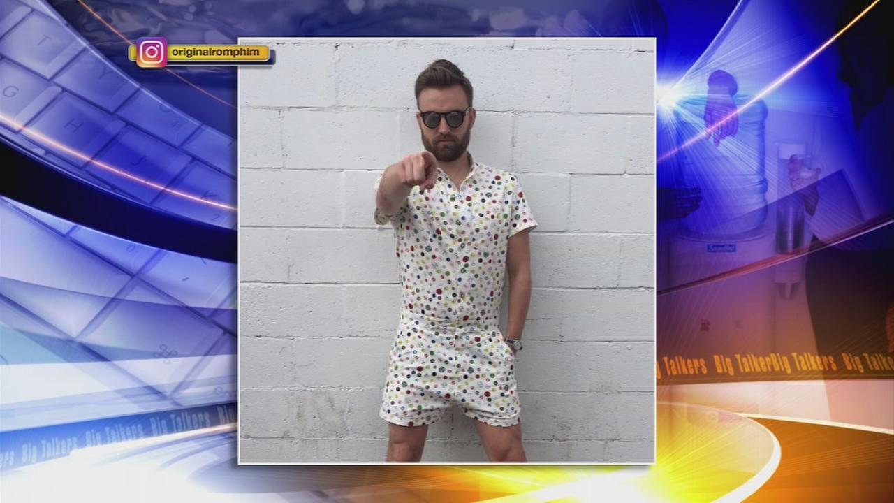Design company crowdfunds rompers for men