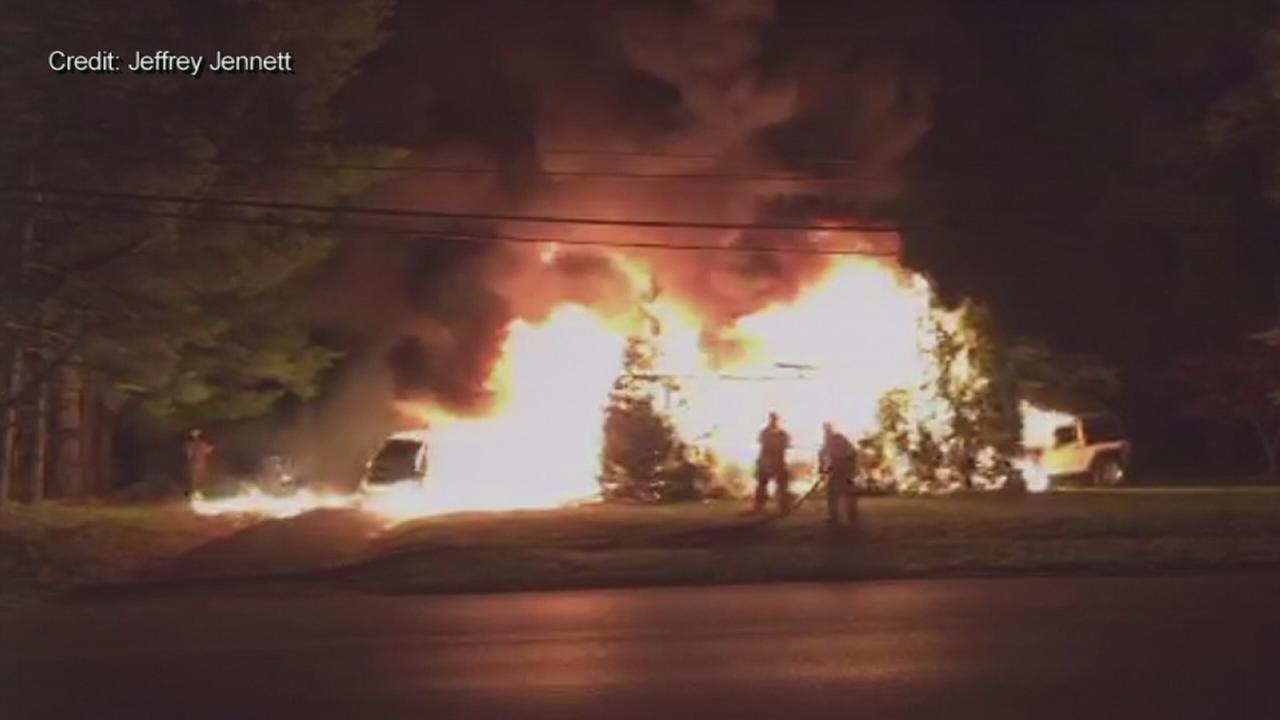 Officials: Fire that destroyed Glassboro home was arson
