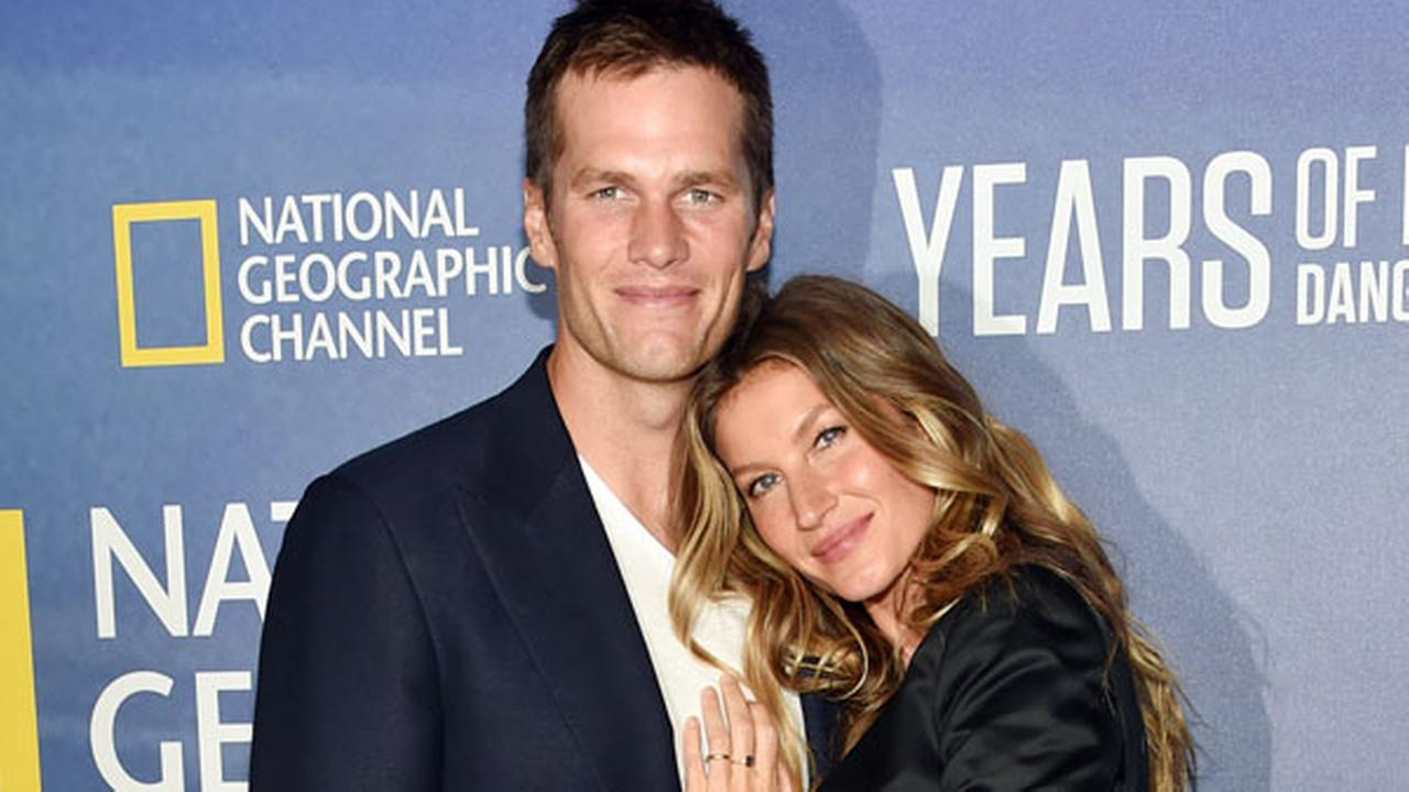 Model Gisele Bundchen and her husband, NFL quarterback Tom Brady, attend the premiere of National Geographic Channels, Years of Living Dangerously, Sept. 21, 2016,