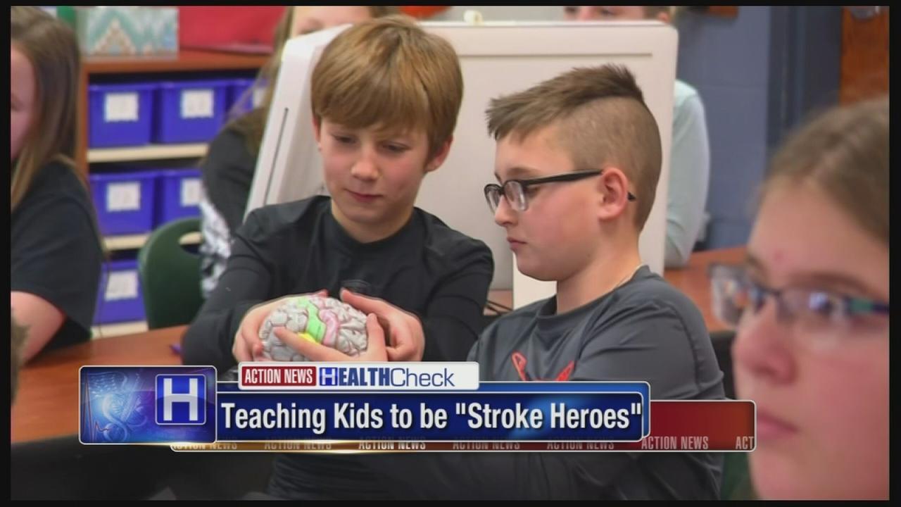 Teaching kids to be stroke heroes