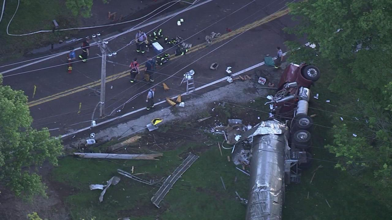 Tractor trailer driver killed in Lower Providence Twp. crash