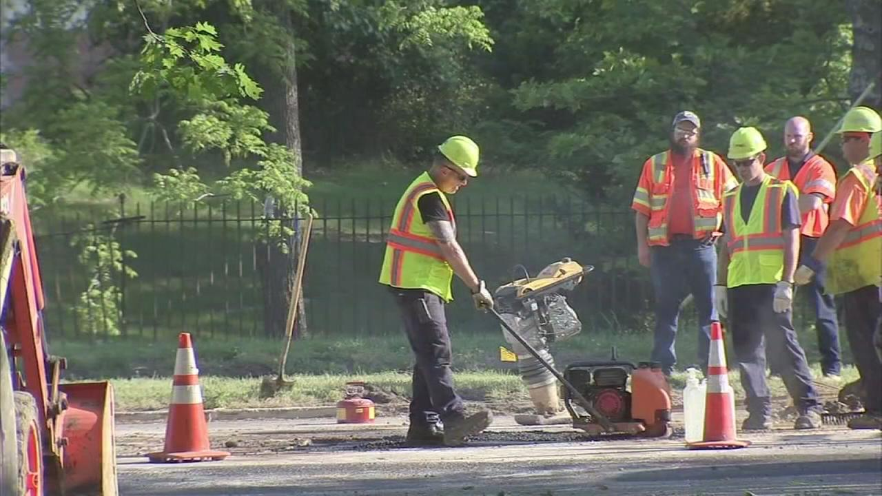 Gas leak repaired on Route 70