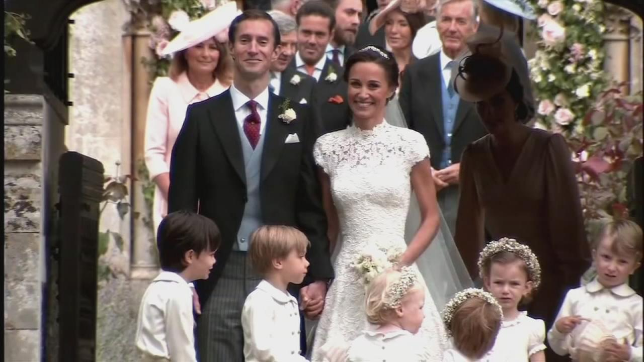 Pipa Middleton gets married