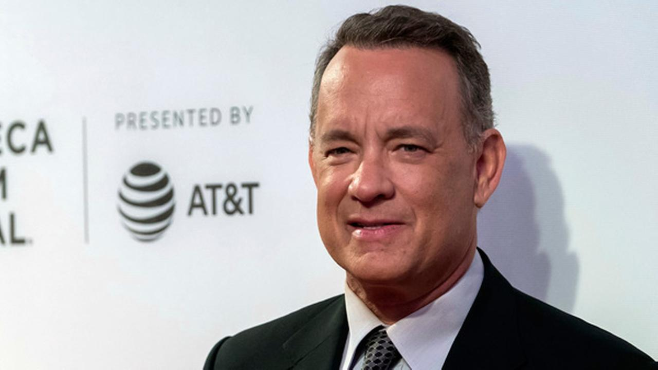 FILE - In this April 26, 2017 file photo, Tom Hanks attends The Circle premiere during the 2017 Tribeca Film Festival in New York.