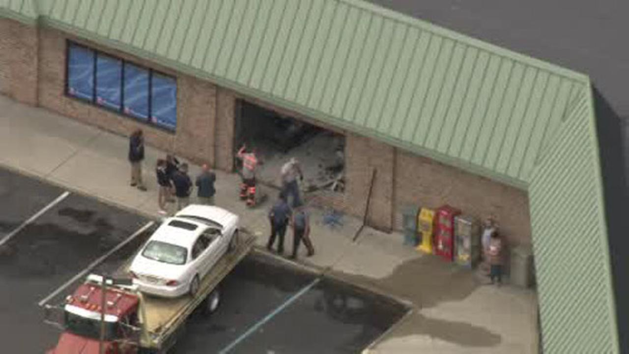Driver crashes into Rite Aid in Gloucester County