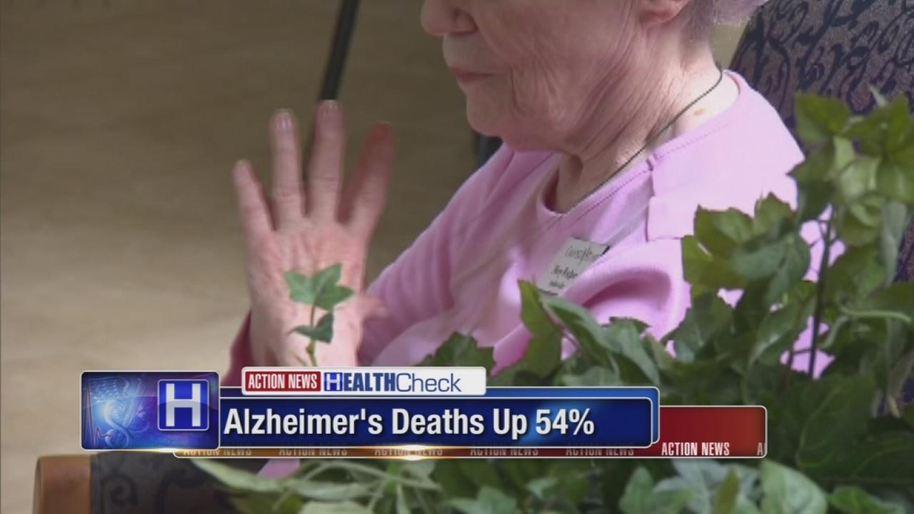 Alzheimers deaths rise 54% in 18 years
